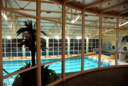 widok niecki basenu z widowni