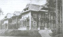 Brzozów Zdrój. Zakład kąpielowy, 1928r.
