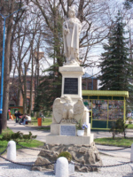 pomnik 500-lecia bitwy pod Grunwaldem  z 1910r.